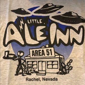 Tops - area 51 tee shirt alien ufo vintage look